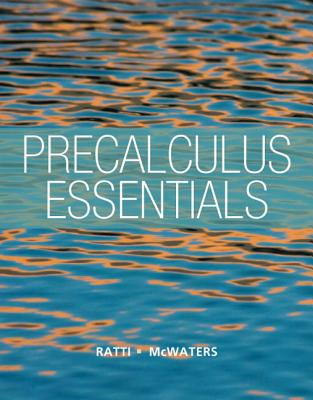 Precalculus Essentials By Ratti, Jogindar/ McWaters, Marcus
